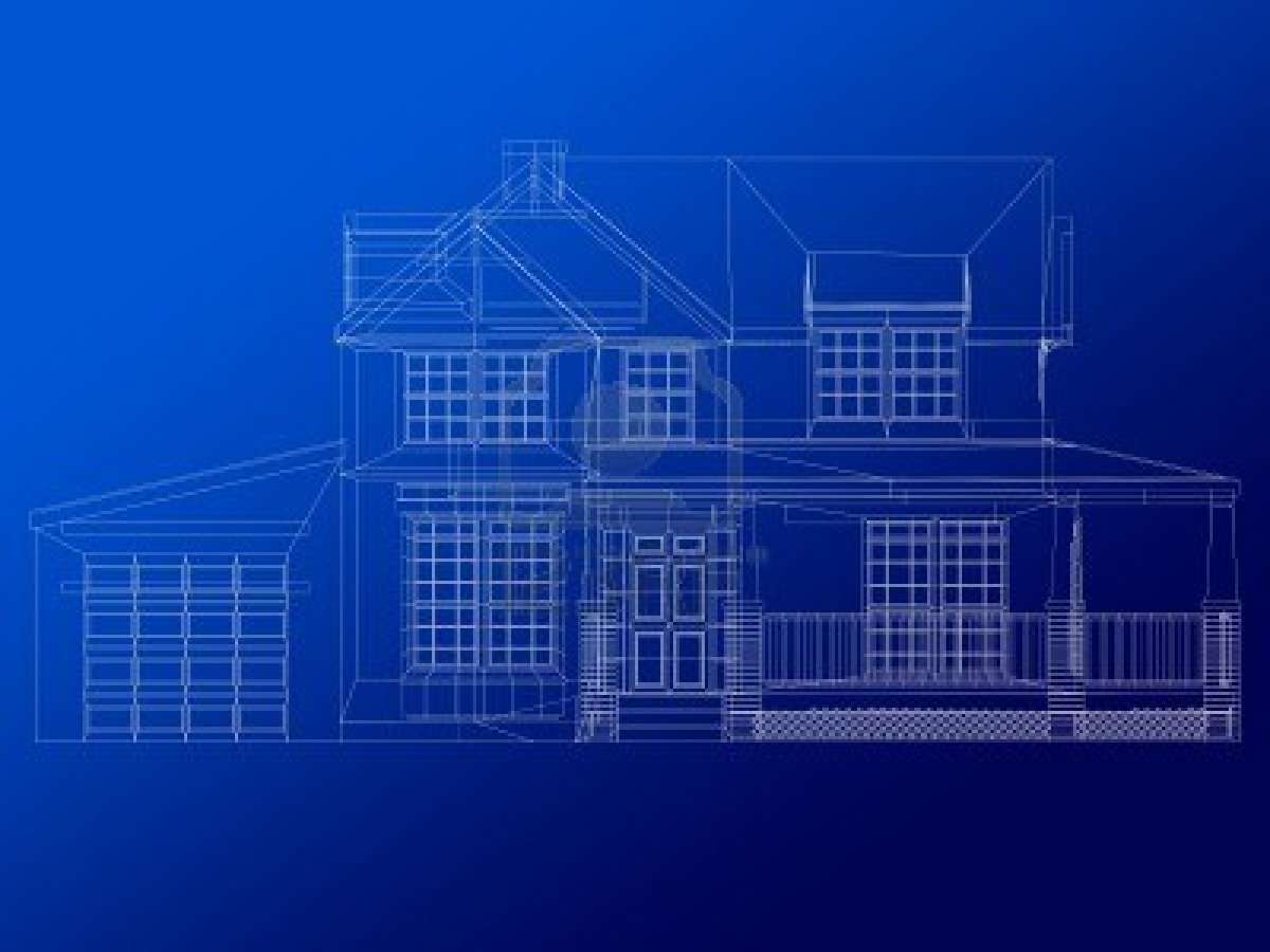 pics photos house blueprint background